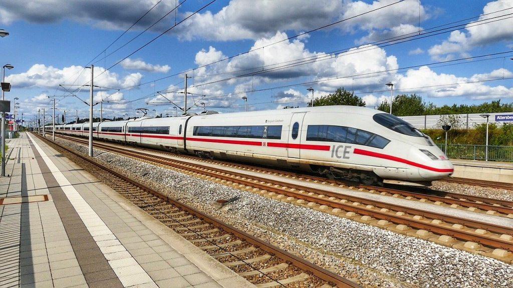 Deutsche Bahn Ice Strecke