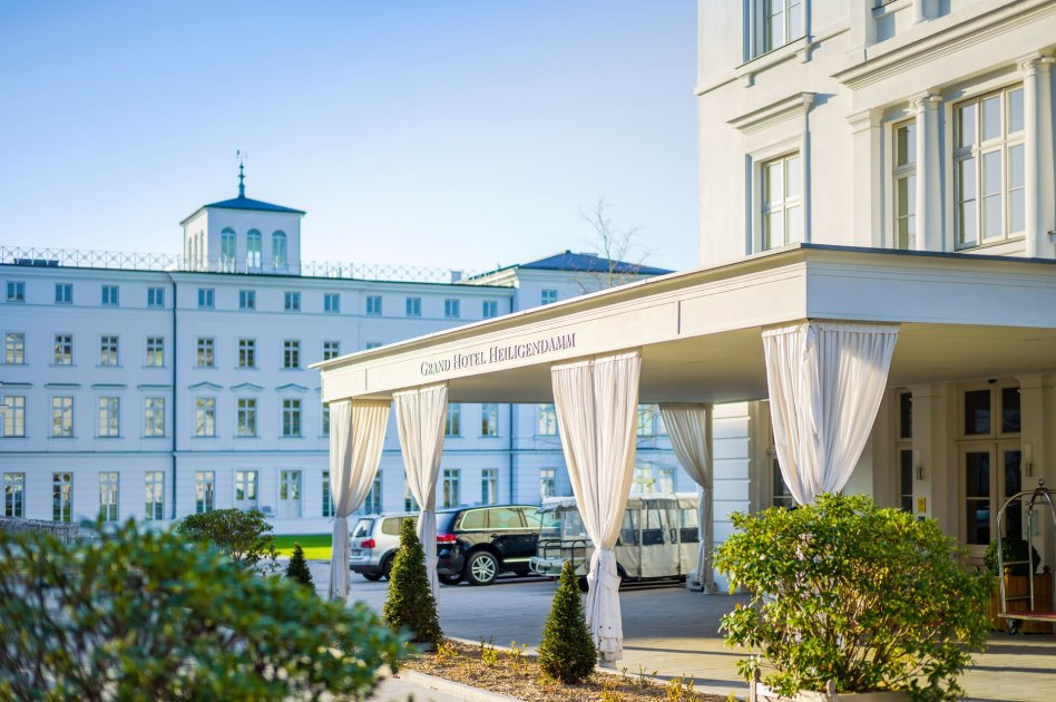 Grand Hotel Heiligendamm Eingang Lobby