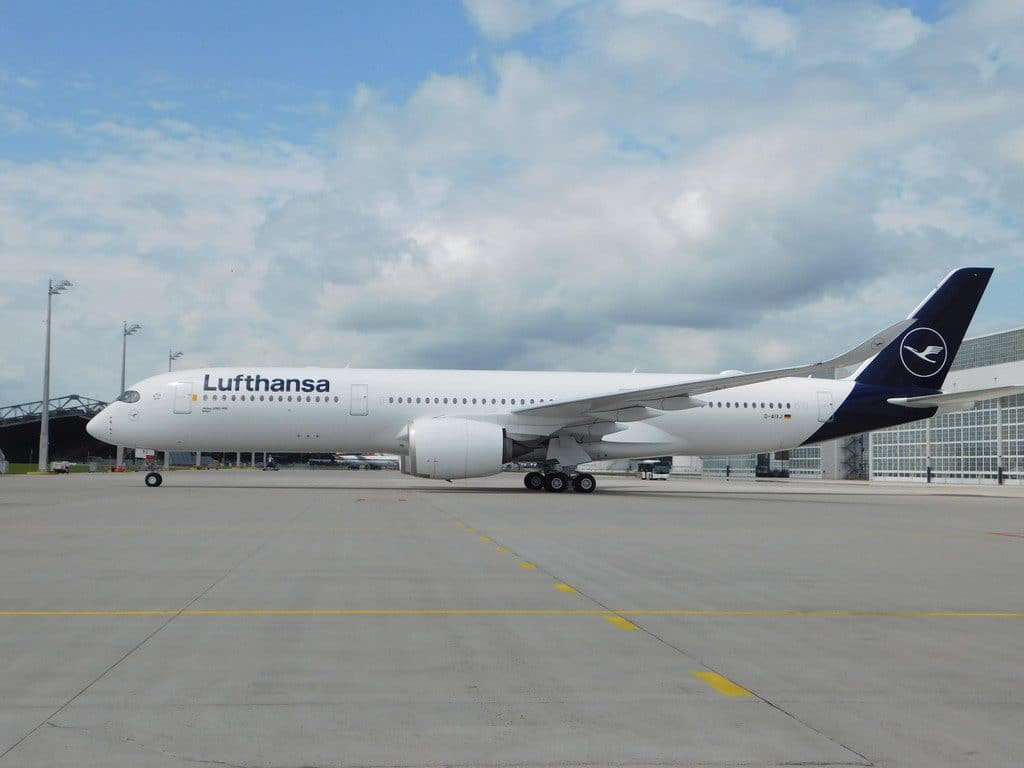 Lufthansa A350 900 Airbus