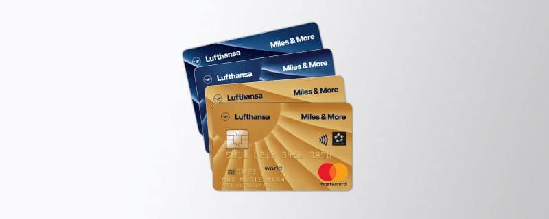 Gold + Blue Credit Card Private + Business