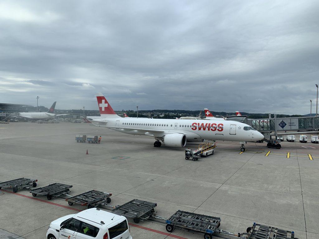 Swiss Kurzstrecke A220