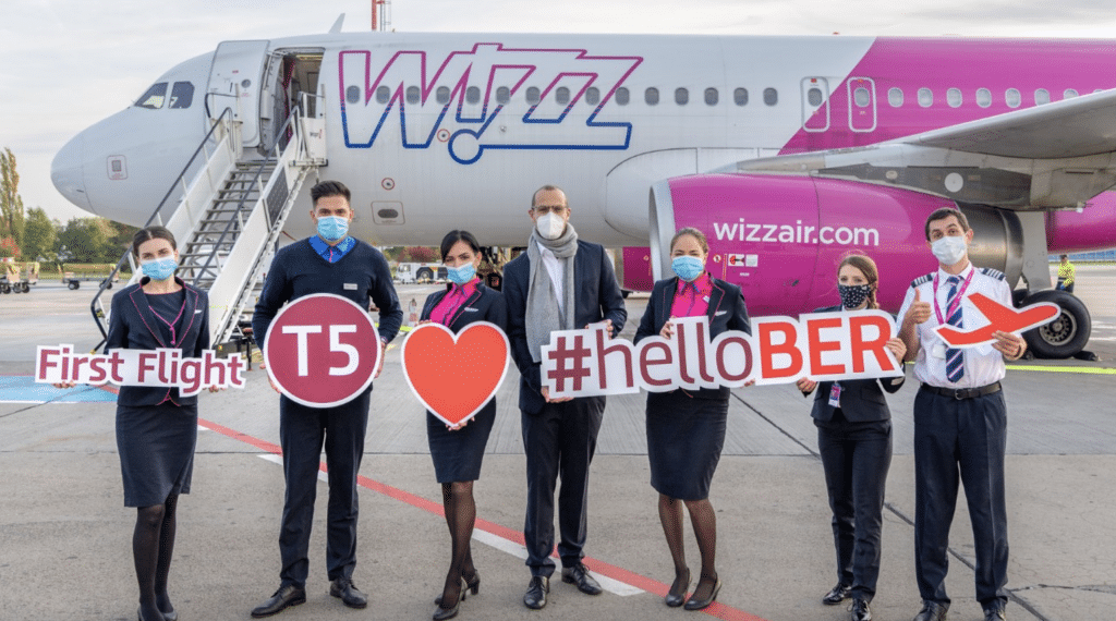 Wizz Air Flug BER
