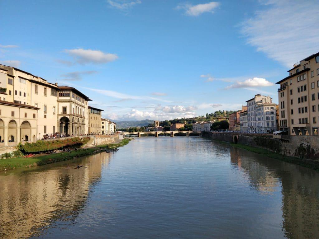Arno Fluss Florenz 7