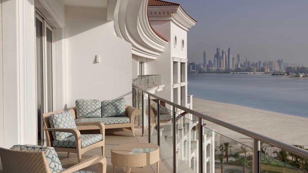Waldorf Astoria Palm Jumeirah Balkon
