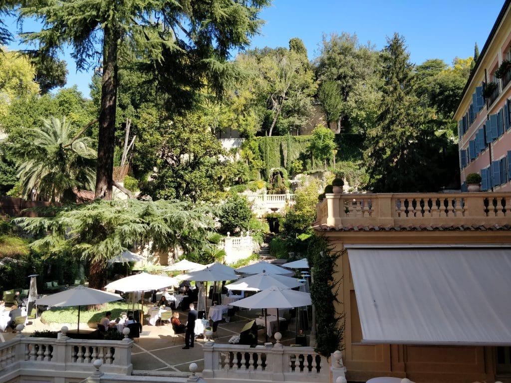 Hotel De Russie Rom Balkon Aussicht