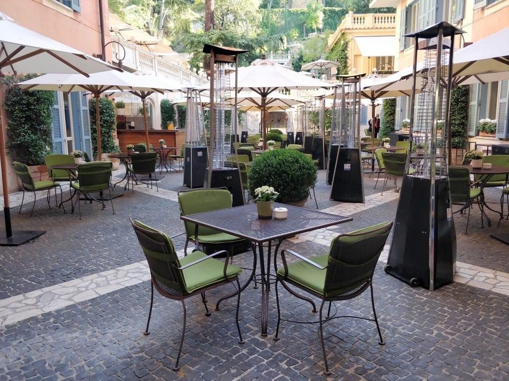 Hotel De Russie Rom Bar 2