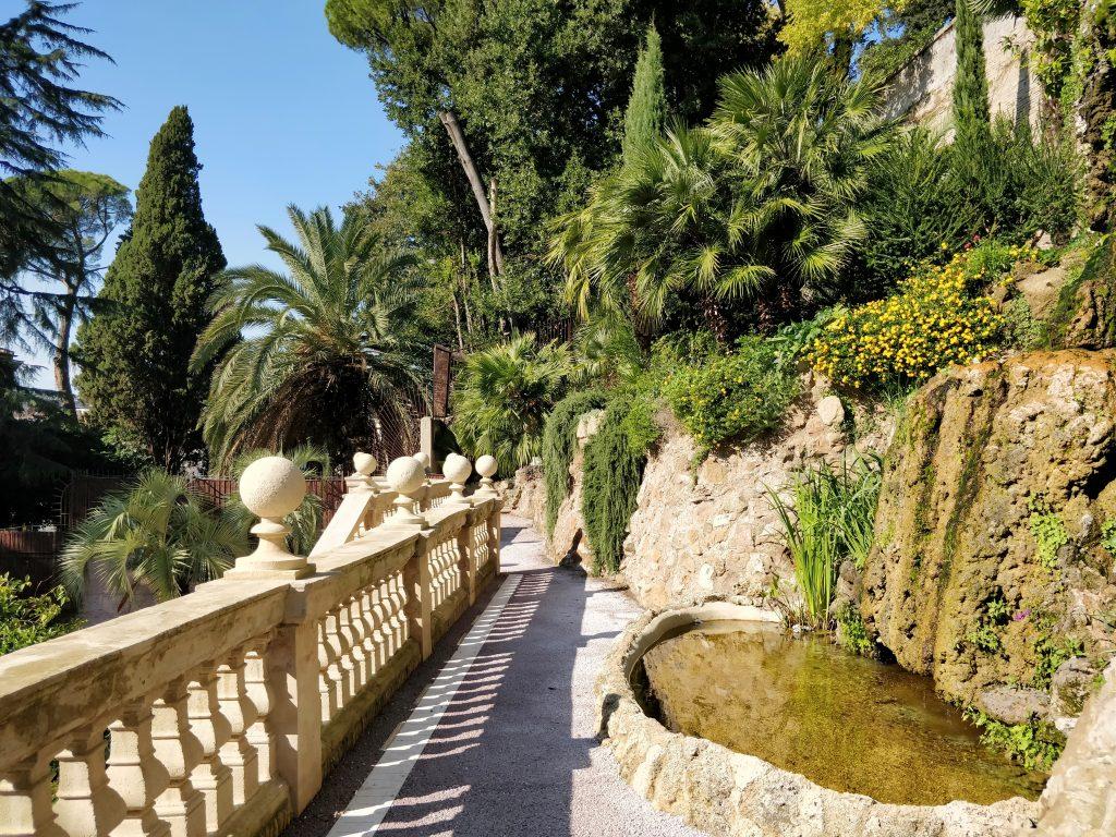 Hotel De Russie Rom Garten 2