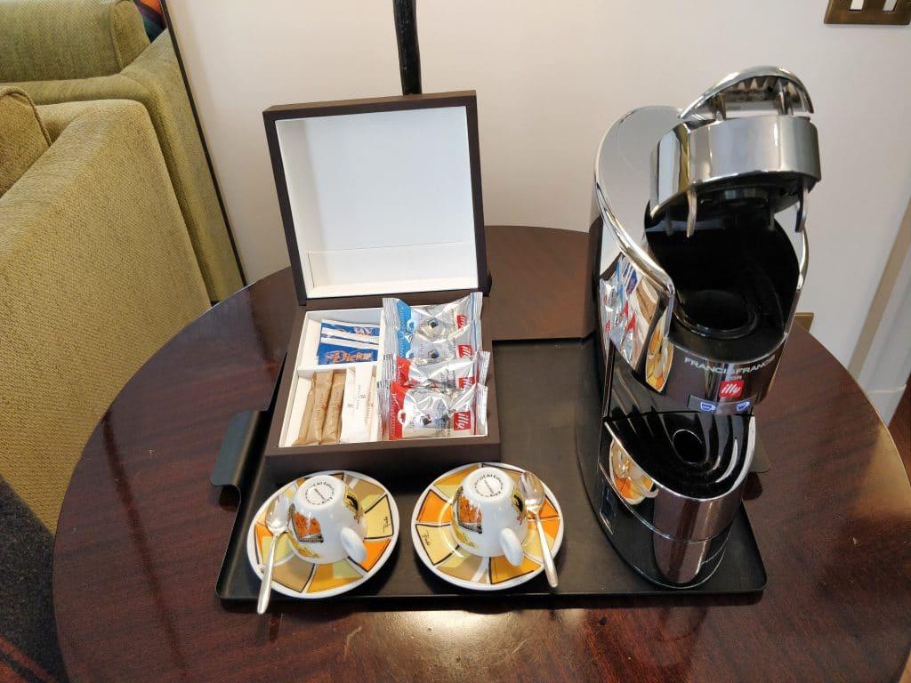 Hotel De Russie Rom Suite Kaffeemaschine