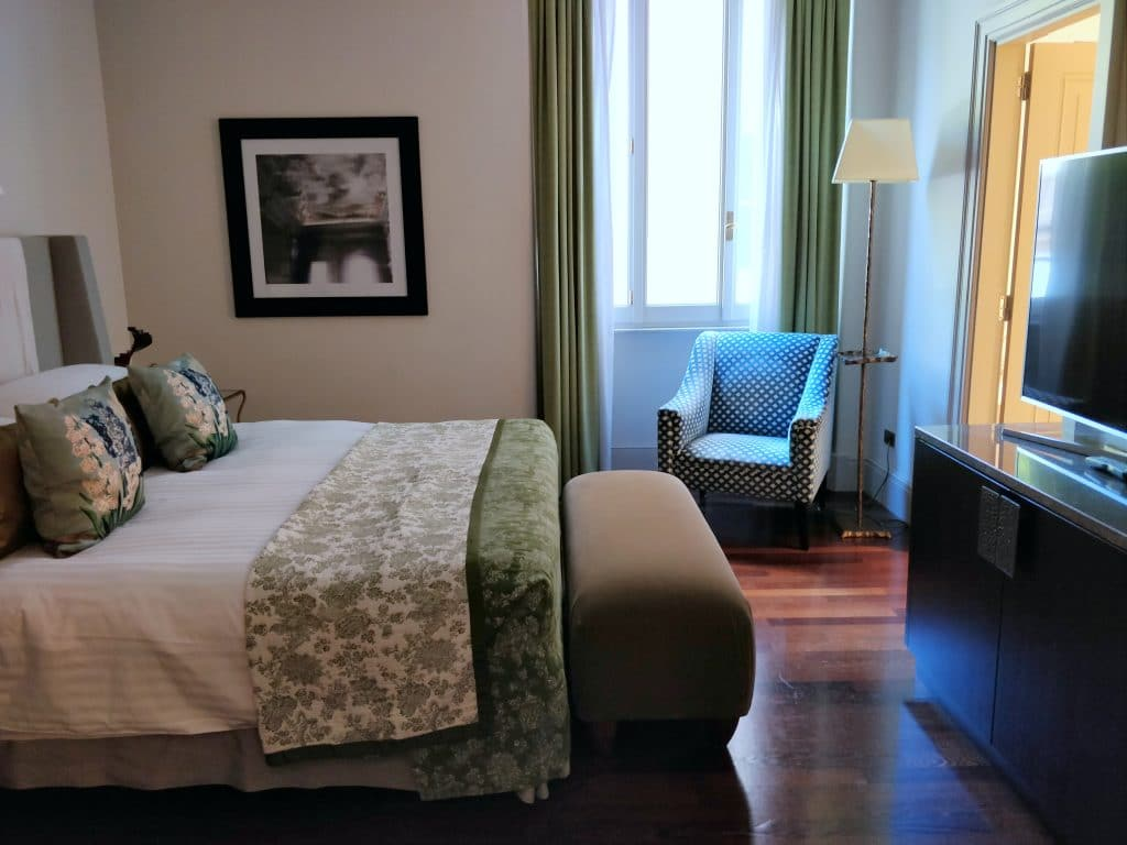 Hotel De Russie Rom Suite Schlafzimmer 4
