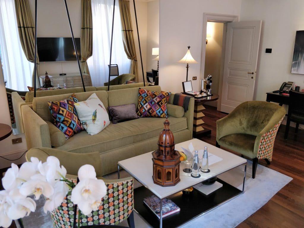 Hotel De Russie Rom Suite Wohnzimmer 2
