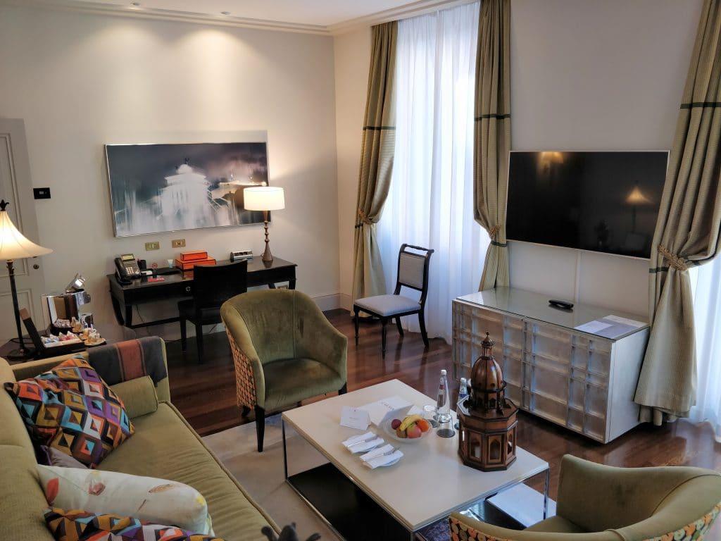 Hotel De Russie Rom Suite Wohnzimmer 4