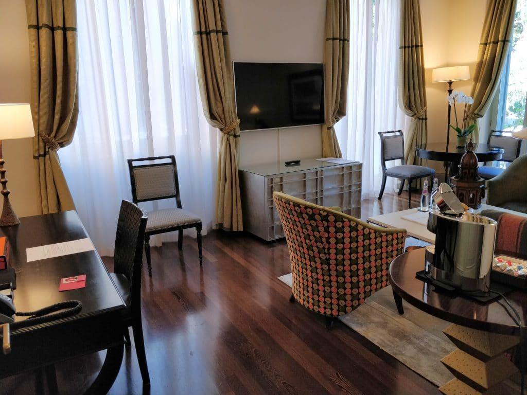 Hotel De Russie Rom Suite Wohnzimmer 8