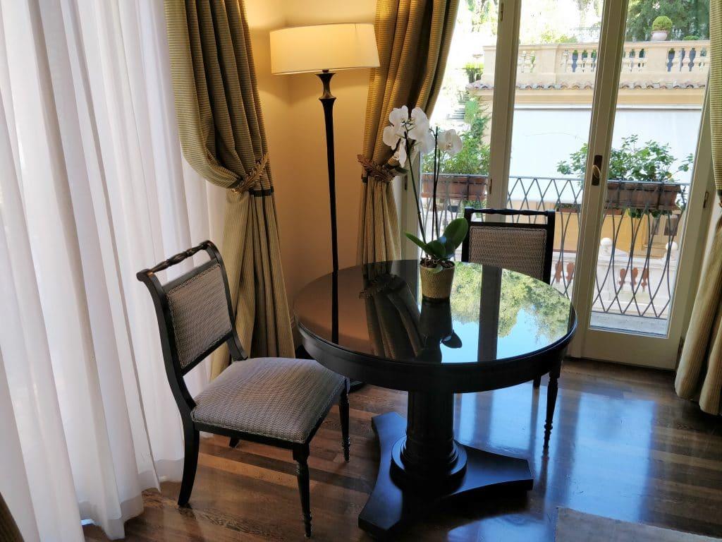 Hotel De Russie Rom Suite Wohnzimmer 9