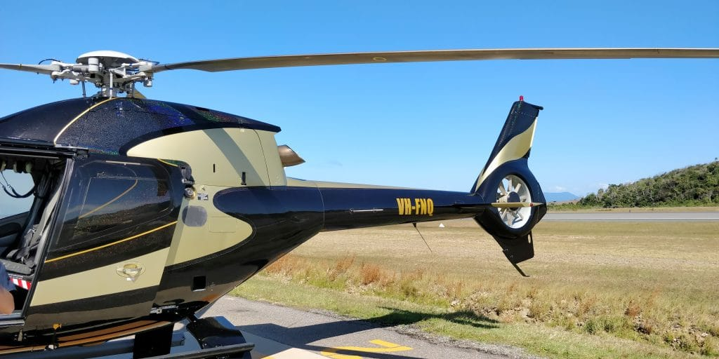 InterContinental Hayman Island Helicopter 3
