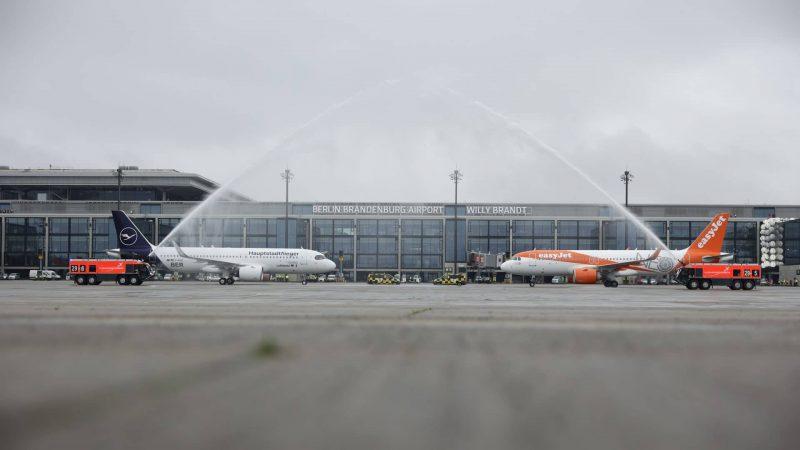 Lufthansa & EasyJet, Flughafen Berlin Brandenburg (BER)