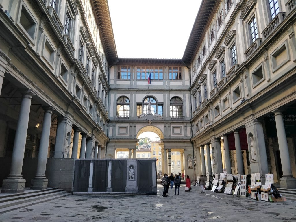 Piazalle Degli Uffzi Florenz