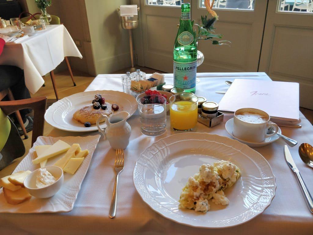 Rocco Forte Hotel Savoy Frühstück