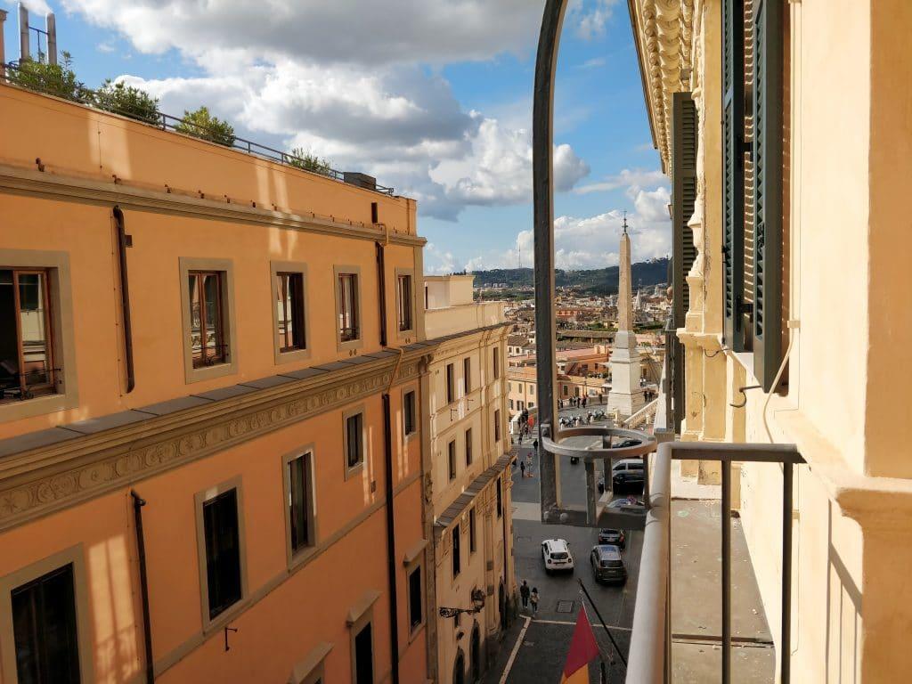 Rocco Forte Hotel De La Ville Balkon