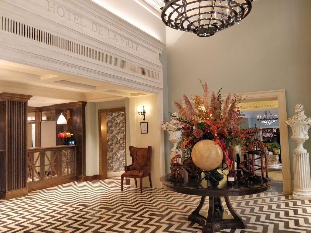 Rocco Forte Hotel De La Ville Rom Lobby