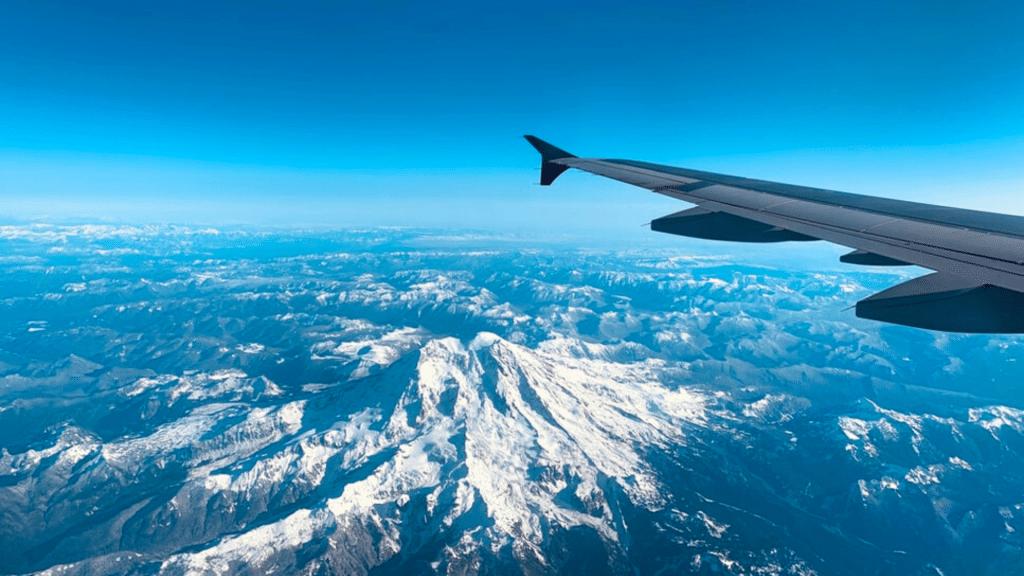 Rocky Mountains Plane