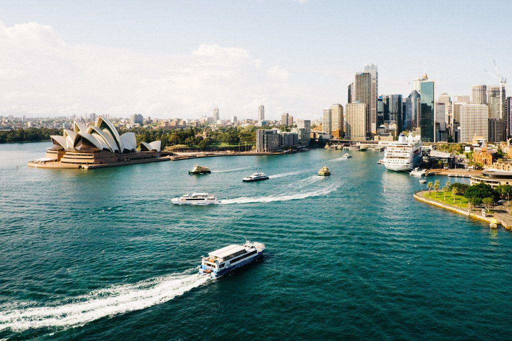 Sydney Harbour Opernhaus