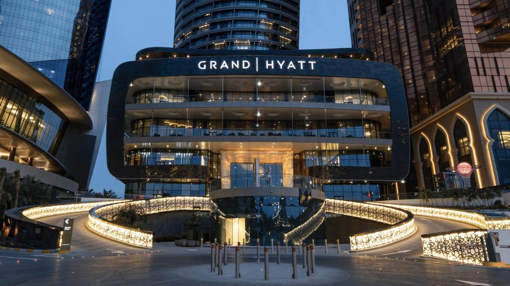 Grand Hyatt in Abu Dhabi