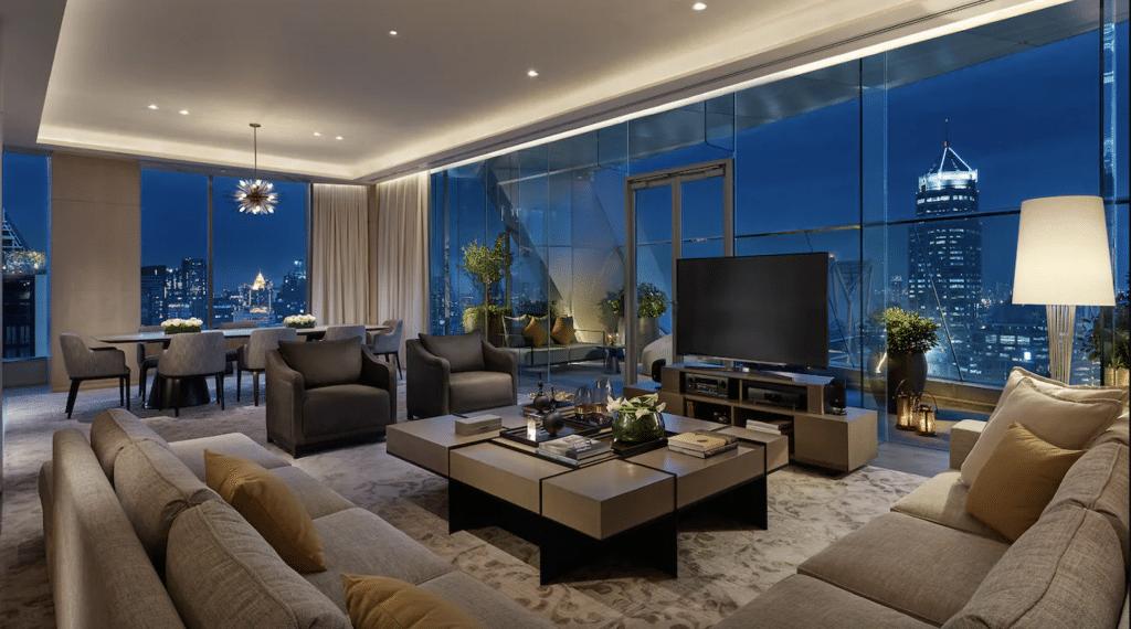 Das Park Hyatt Hotel in Bangkok könnt Ihr mit Euren World of Hyatt Punkten buchen.