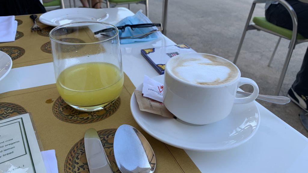Verdura Resort Früshtück Kaffee