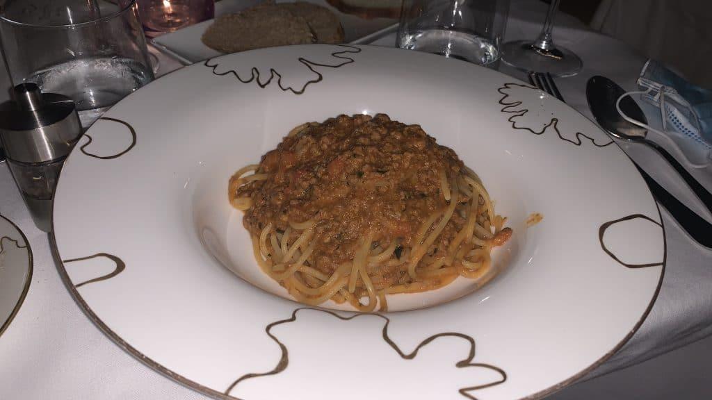 Verdura Resort Pasta Abendessen