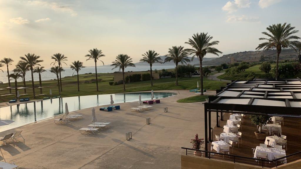 Verdura Resort Sizilien Ausblick Lobby 2