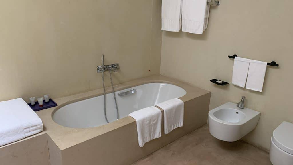 Verdura Resort Sizilien Badezimmer