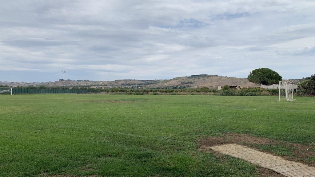 Verdura Resort Sizilien Fußballplatz
