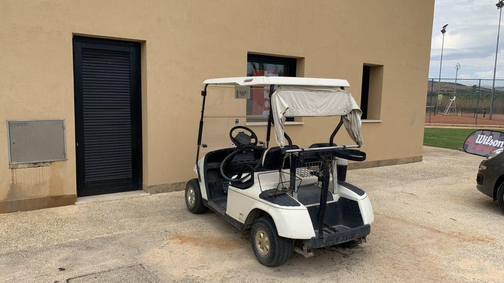 Verdura Resort Sizilien Golf Cart