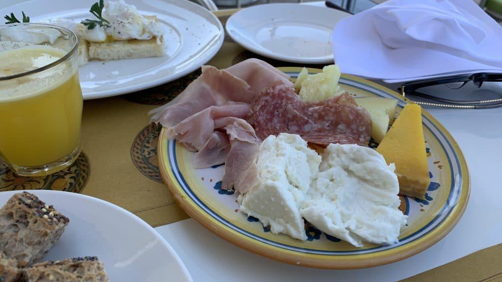 Verdura Resort Sizilien Italienische Vorspeisen Frühstück