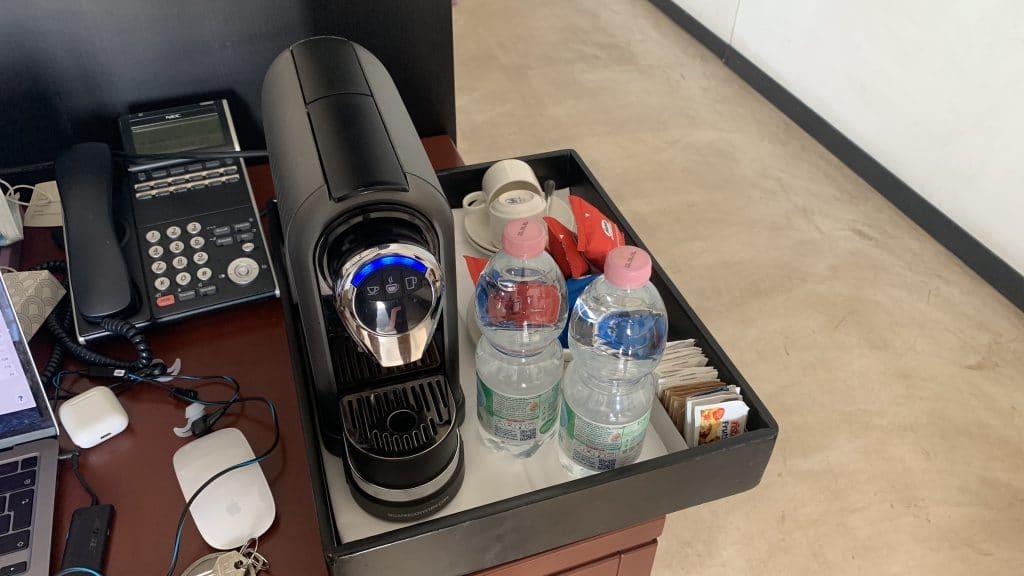 Verdura Resort Sizilien Kaffeemaschine