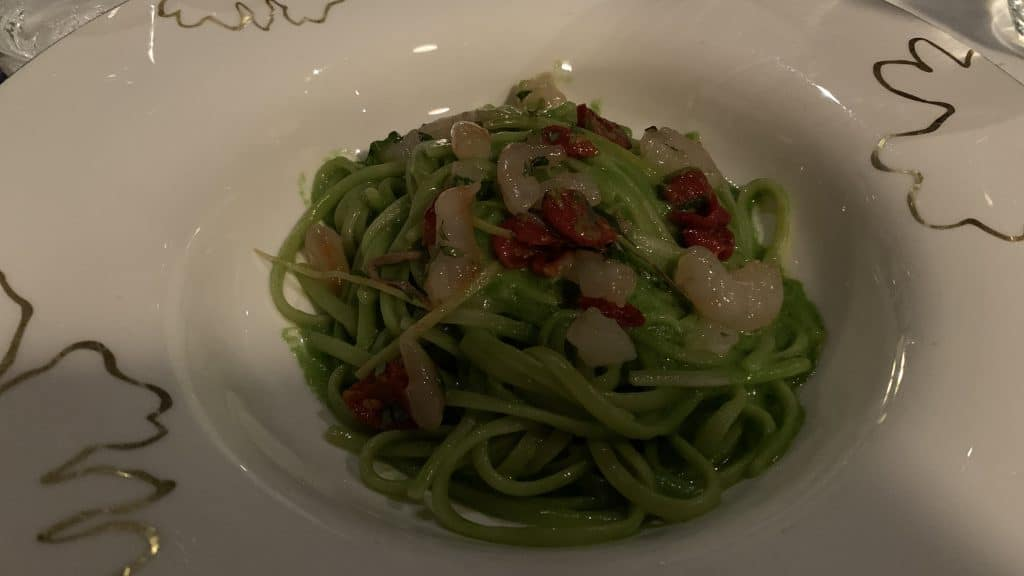 Verdura Resort Sizilien Restaurant Pasta