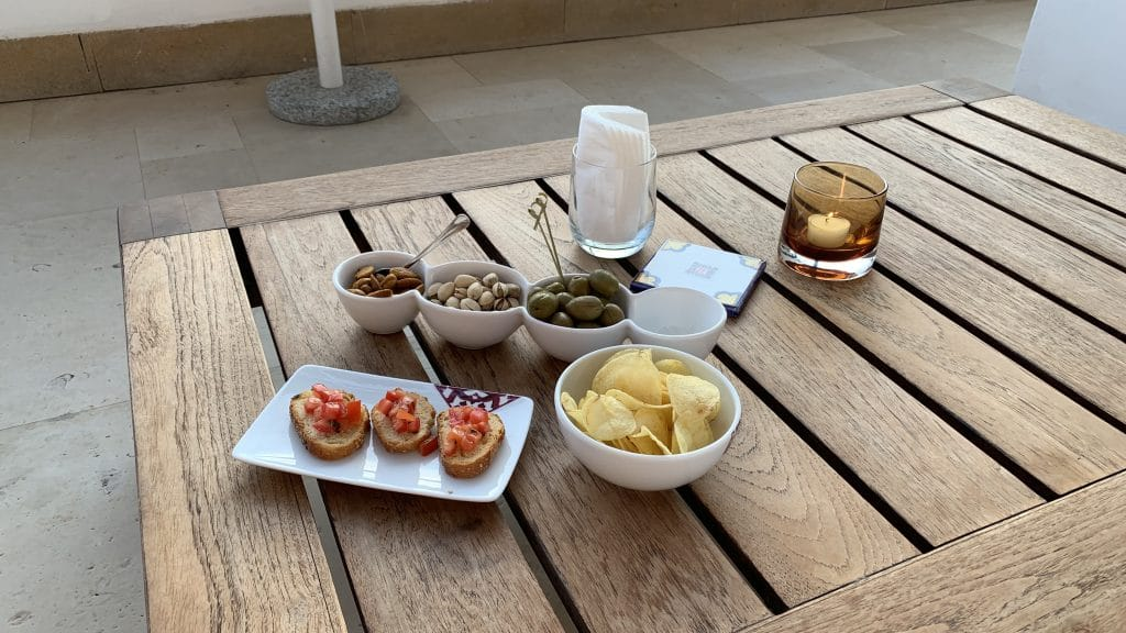 Verdura Resort Sizilien Snacks Bar
