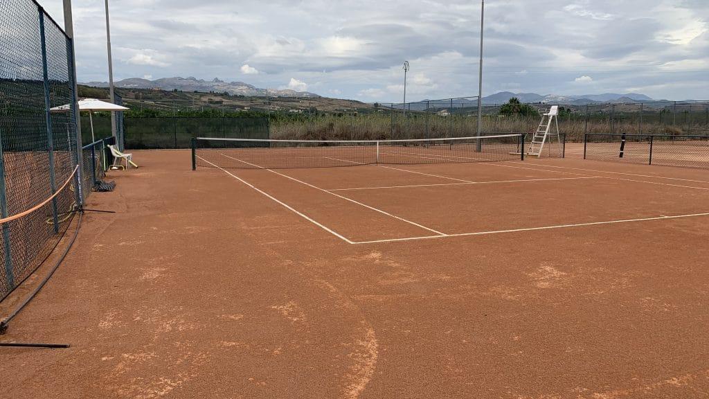 Verdura Resort Sizilien Tennisplatz