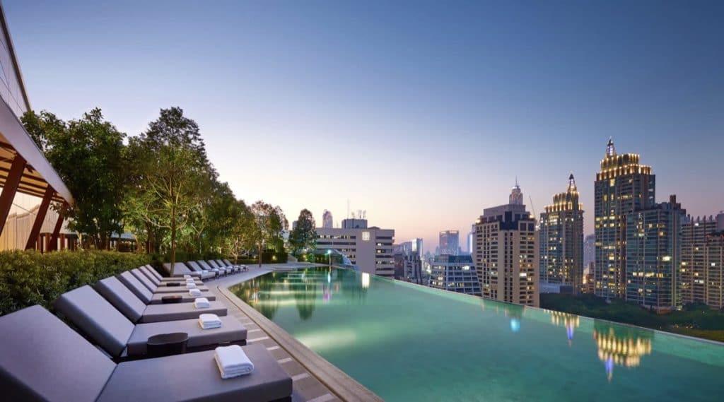 Hyatt Regency Bangkok Pool