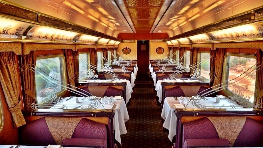 Le train de luxe Indian Pacific
