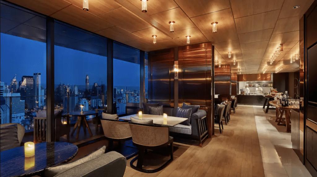 Hyatt Regency Club Lounge Bangkok
