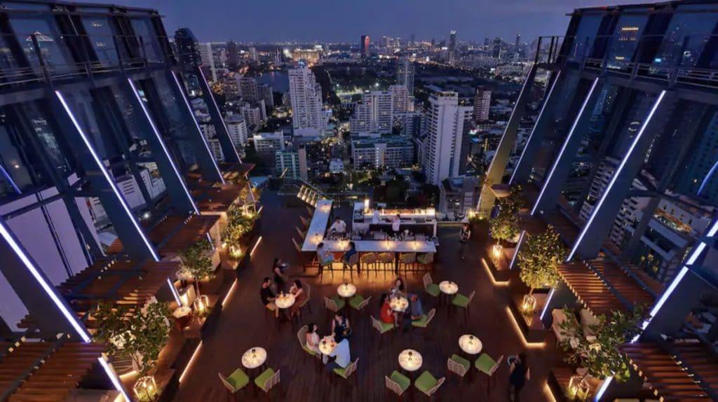 Hyatt Regency Bangkok Rooftop Bar