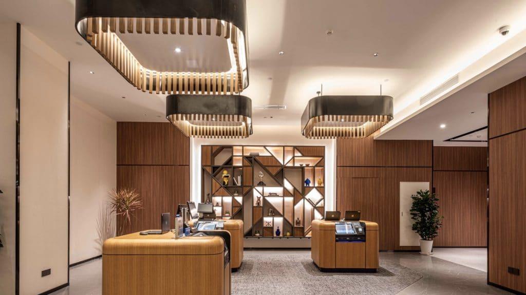 UrCove Shanghai Jingan Lobby