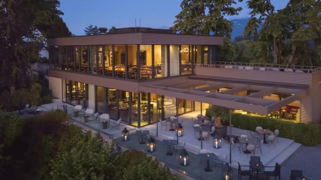 Bürgenstock Hotel Aussenansicht