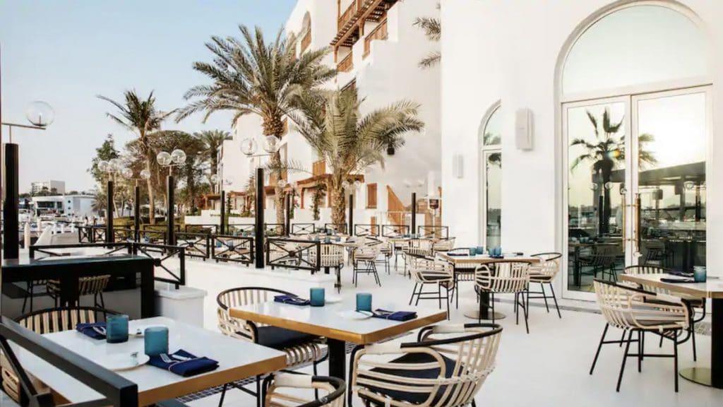 Park Hyatt Dubai Restaurant Brasserie du Park