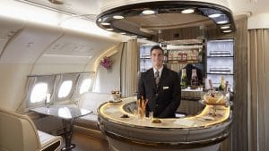 Emirates First Business Class Lounge Airbus A380