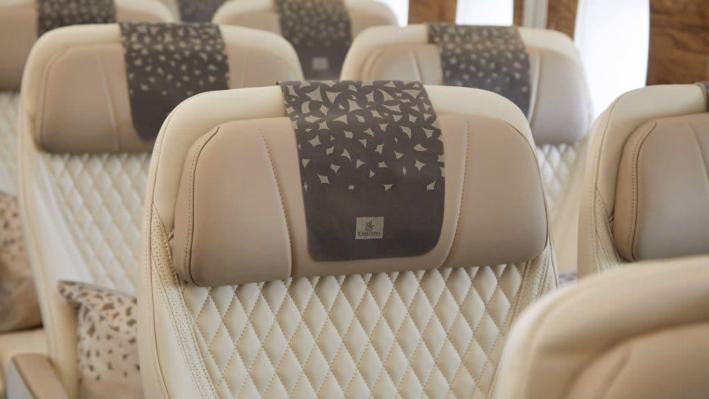 Emirates Premium Economy Class Airbus A380 2