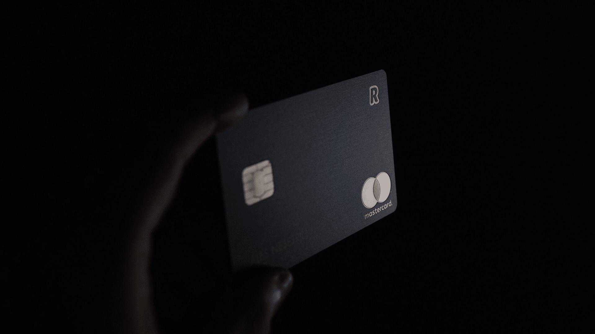 Schwarze Kreditkarte Revolut