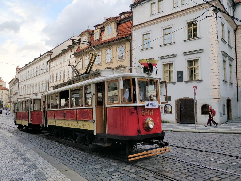 Straßenbahn Prag