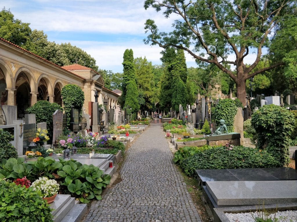 Vyšehrad Friedhof Prag 2